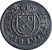 10 Pfennig (Zeitz) [Landkreis, Provinz Sachsen] – avers