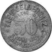 50 Pfennig (Sommerda)[Stadt Provinz Sachsen] – revers
