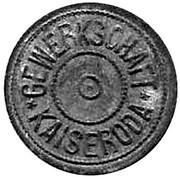 10 Pfennig (Kaiseroda, private issue)[Stadt, Sachsen/Weimer/Eisenach] – avers