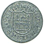 50 Pfennig (Speyer) [Kreishauptstadt, Rheinpfalz] – avers
