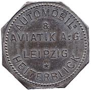 50 Pfennig Leipzig - AVIATIK A.G. – avers