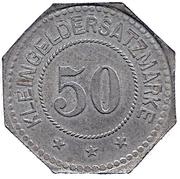 50 Pfennig Leipzig - AVIATIK A.G. – revers