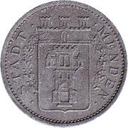 5 Pfennig (Menden) [Stadt, Westfalen] – avers