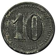 10 Pfennig (Altenfeld) [Private, Schwarzburg-Sondershausen, Consumverein] – revers