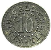 10 Pfennig (Ohrdruf) [Stadt, Saxe-Coburg-Gotha] – revers