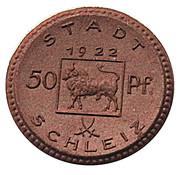 50 Pfennig (Schleiz) [Stadt, Reuß jüngerer Linie, Thuringia] – avers