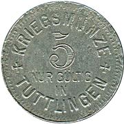 5 Pfennig (Tuttlingen) [Stadt, Württemberg] – revers
