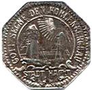 10 Pfennig (Hamm) – avers