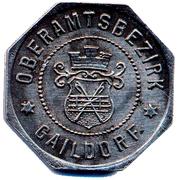 10 Pfennig (Gailsdorf) [Oberamtsbezirk, Wurttemberg] – avers