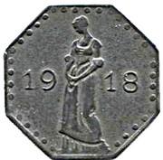 50 Pfennig (Heilbronn) – revers