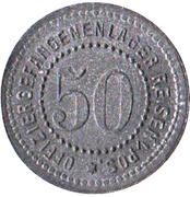50 Pfennig (Reisen) [POW, Posen] – avers