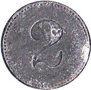2 Pfennig (Eschwege) [POW, Hessen-Nassau] – revers