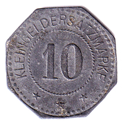 10 Pfennig Anhaltische Kohlewerke – revers