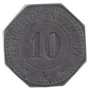 10 Pfennig (Mücheln) [Private, Sachen, Anhaltische Kohlenwerke] – revers