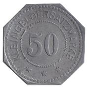 50 Pfennig (Wittenberg) [Stadt, Sachsen] – revers