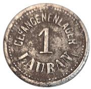 1 Pfennig Lauban ( POW, basse-silesie) – avers