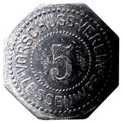 5 Pfennig  [Stadt, Lessen] – avers