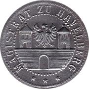10 pfennig - Havelberg – avers