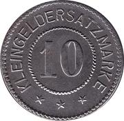 10 pfennig - Havelberg – revers