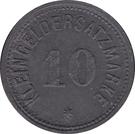 10 Pfennig Heiligenhafen [Stadt, Schleswig-Holstein] – revers