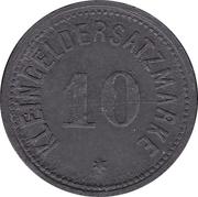 10 pfennig - Heiligenhafen – revers