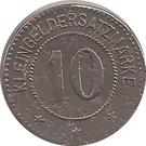 10 Pfennig (Gostyn) [Stadt] – revers