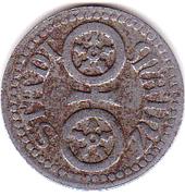 5 pfennig (Mainz) – avers