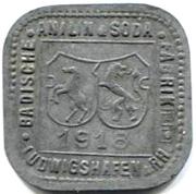 2 Pfennig (ludwigshafen) – avers