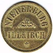 20 (pfennig) Niederburg - Illkirch-graffenstaden (67) – avers
