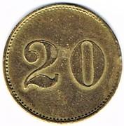 20 (pfennig) Niederburg - Illkirch-graffenstaden (67) – revers