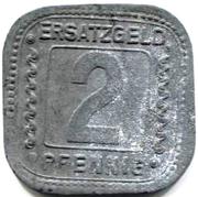 2 Pfennig (ludwigshafen) – revers