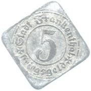 5 pfennig (Frankenthal) – avers