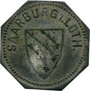 5 pfennig Saarburg-Lothringen – avers