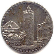 5 pfennig (Pössneck) – revers
