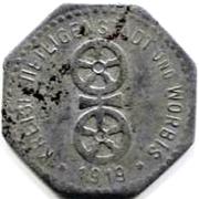 5 Pfennig  (Heiligenstadt und Worbis) – avers