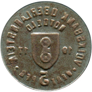 5 Pfennig (Oberlahnstein) [Private, Hessen-Nassau, Volksbank] – revers