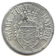 10 pfennig (Stadt Fürth in Bayern) – avers