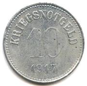 10 pfennig (Stadt Fürth in Bayern) – revers
