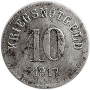 10 Pfennig (Fürth) – revers