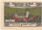50 Pfennig (Gernrode im Harz) – avers