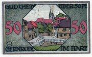 50 Pfennig (Gernrode-Harz) – revers