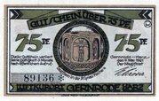 75 Pfennig (Gernrode im Harz) – avers
