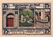 75 Pfennig – avers