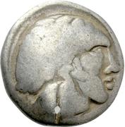 """Tetradrachm (""""Sattelkopfpferd"""" type) – avers"""