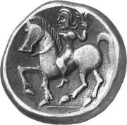 Tetradrachm (Imitation of Tetradrachm of Philip II) – revers