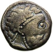 Denarius (Imitation of Roman Republican Denarius) – avers