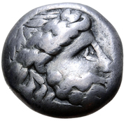 Tetradrachm (Wulstlorbeer Type) – avers