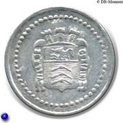 10 Centimes Ville de Gex [01] – avers