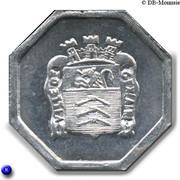 25 Centimes - Ville de Gex [01] – avers
