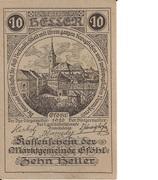 10 Heller (Gföhl) -  avers